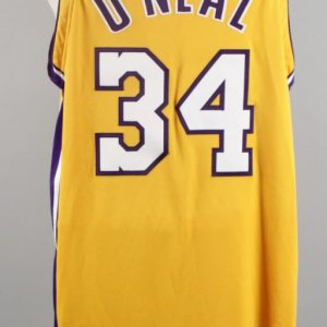 1999-00 Shaquille O'Neal Game-Worn Los Angeles Lakers Jersey (MEARS LOA)