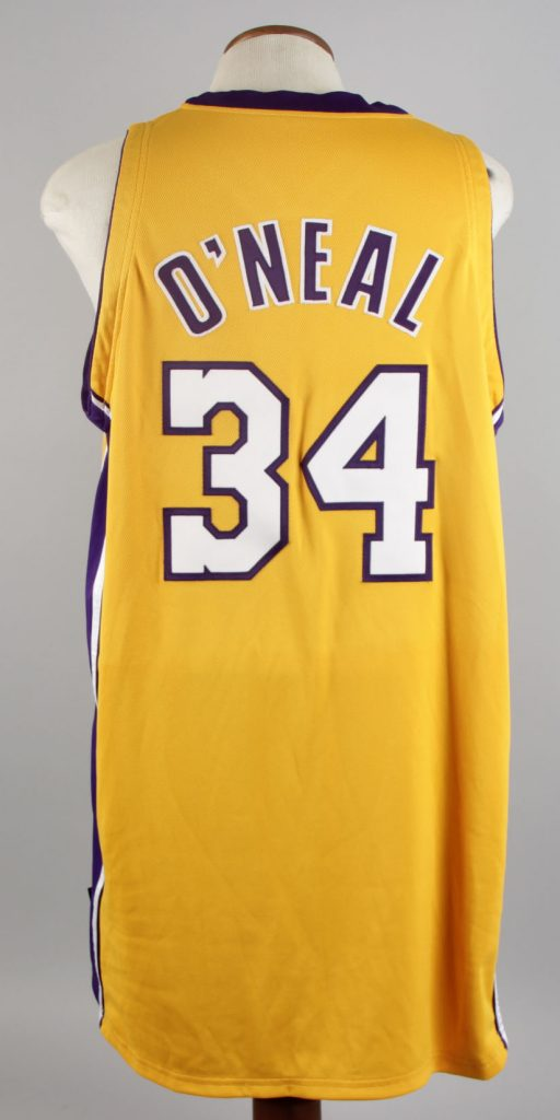 be38829a673 1999-00 Shaquille O'Neal Game-Worn Los Angeles Lakers Jersey (MEARS LOA)