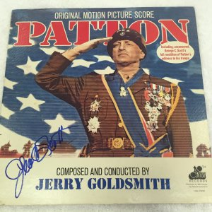 "George C. Scott Signed 1970 ""Patton"" 20th Century Records Album"