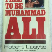 "Muhammad Ali signed ""Free to be Muhammad Ali"" Book by Robert Lipsyte"