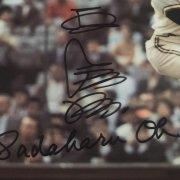 Sadaharu Oh Signed 7x10 Japanese Display Piece