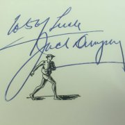 "Jack Dempsey signed and inscribed ""Dempsey"" Book"