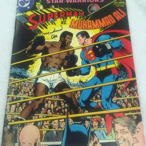Muhammad Ali vs Superman Signed Original 1978 Comic Book