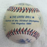Team U.S.A. 1984 Olympic Signed Baseball