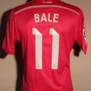 A Gareth Bale Game-Used #11 Real Madrid CF Away Shirt.  2014/15 La Liga (Spanish Domestic).