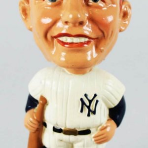1960 Mickey Mantle (Large) White Base Nodder.