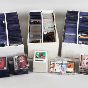 Mega Modern Basketball Card Lot 1800+ Signed, Game Used, Rookies - Kobe, LeBron, Jordan, Kyrie Auto etc.