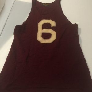 1920-1934 Horace Partridge Co, Harvard University Club shirt Basketball Jersey