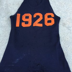 Syracuse University 1926 Game Worn Basketball Jersey