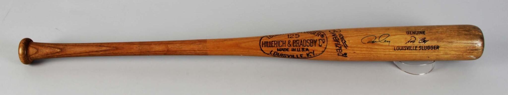 1974 Ron Cey Game-Used, Signed Baseball Bat LA Dodgers - COA PSA/DNA