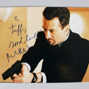 Heat - Robert De Niro Signed Full Signature 11x14 Photo - JSA Full LOA