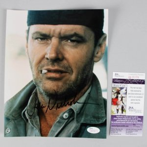 One Flew Over the Cuckoo's Nest - Jack Nicholson Signed 8x10 Photo - COA JSA
