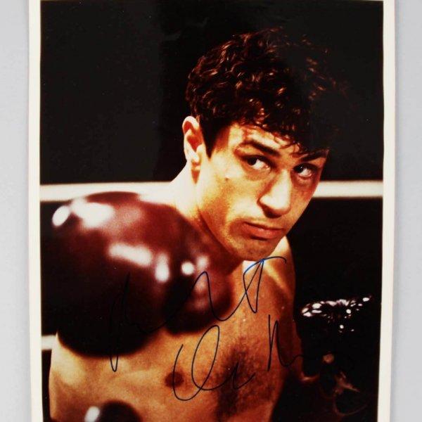 Raging Bull - Robert De Niro Signed Full Signature 8x10 Photo - JSA Full LOA