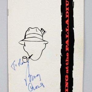 1976 Bing Crosby Signed Program - COA JSA