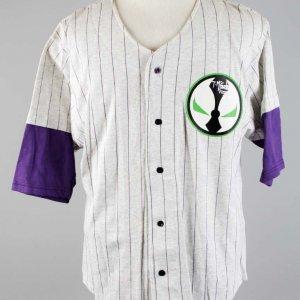 Todd McFarlane's Signed Spawn Baseball Shirt - COA JSA