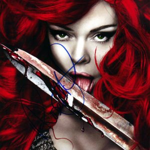 Rose McGowan Autographed Signed Red Sonja Photo AFTAL