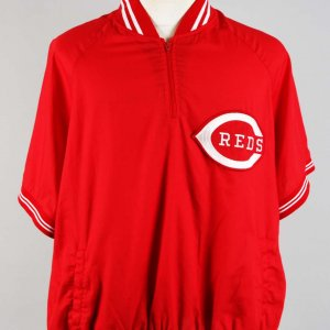 Cincinnati Reds - Tony Pérez Game-Worn Warm Up Jacket (as Manger)