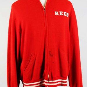 Cincinnati Reds - Tom Seaver Game-Worn Warm Up Sweatshirt Jacket
