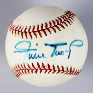 Vintage Willie Mays Signed Baseball - JSA Full Letter