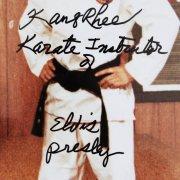 1973 Elvis Presley Special Black Belt with Signed Letter From Kang Rhee Instructor +(2) Bonus Signed Photos & Certificate JSA COA