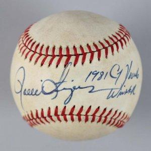 Oakland A's - Rollie Fingers Signed & Inscribed OAL Baseball - COA JSA