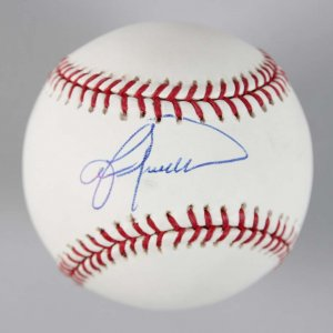 New York Yankees Lou Piniella Signed OML Baseball - COA JSA