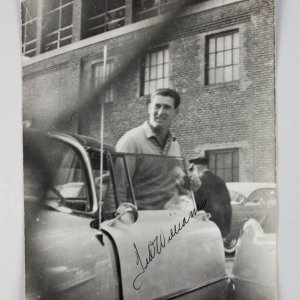 Boston Red Sox Ted Williams Signed 8x10 B&W Photo - JSA Full LOA