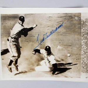 1951 Red Sox - Ted Williams Signed 8x10 B&W Wire Photo - JSA Full LOA