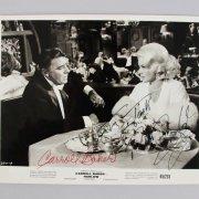1965 Harlow - Peter Lawford & Carroll Baker Signed Paramount 8x10 Move Still - JSA Full Letter
