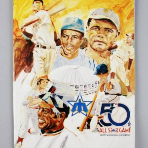 1979 MLB All-Star Baseball Game Program Signed By Joe Morgan, Lou Brock & Steve Garvey - JSA