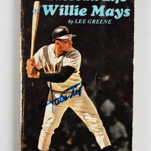 "San Francisco Giants - Willie Mays Signed ""The Baseball Life Willie Mays"" Book - JSA"