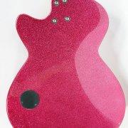 Ellie Goulding Autographed Pink Daisy Rock Guitar