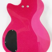 Elle King Autographed Pink Daisy Rock Guitar ex es and o s