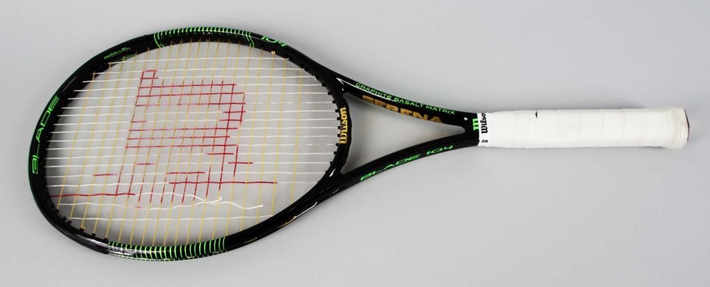 2016 Rio Summer Olympics – Serena Williams Match-Used Tennis Racket