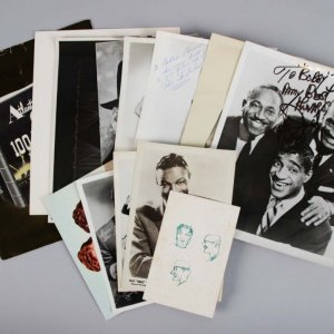 500 Night Club Sammy Davis Jr.  Signed 8x10 Photo w/ Many Others in a Photo Lot - JSA