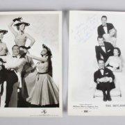 500 Night Club Sammy Davis Jr.  Signed 8x10 Photo w/ Many Others in a Photo Lot - JSA