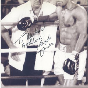 Angelo Dundee Boxing Trainer HOFer Hand Signed 5x7 Photo (DEC)