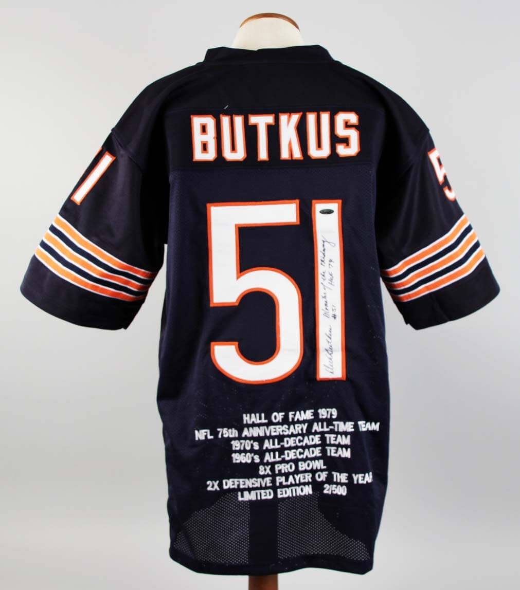 Butkus dick jersey replica
