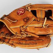 Cal Ripken, Jr. Baltimore Orioles Game-Worn, Used & Signed Rookie Era Baseball Glove (PSA/DNA GU, JSA Full LOA & Provenance LOA)