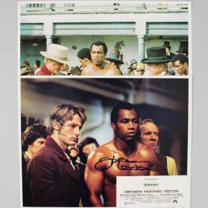 1975 Mandingo - Ken Norton Signed Lobby Card - COA