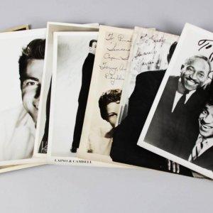 500 Night Club Sammy Davis Jr. Liberace  Signed 8x10 Photo w/ Many Others in a Photo Lot - JSA
