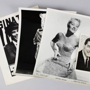 500 Night Club Signed Jack Barry, Sophie Tucker, Patti Page B&W Photo & Others – JSA
