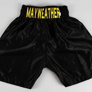 "Floyd ""Money"" Mayweather Jr. Signed Boxing Trunks - JSA Full LOA"