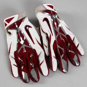 Arizona Cardinals - Larry Fitzgerald Game-Worn Used Gloves