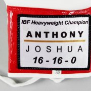 IBF Heavyweight Champ - Anthony Joshua Signed Boxing Glove - COA JSA