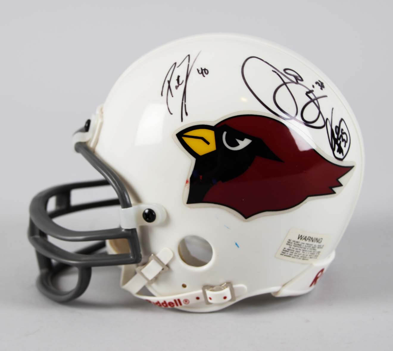 quality design f863d 29d4c Arizona Cardinals Multi-Signed Mini Helmet - Pat Tillman & Others- JSA Full  LOA