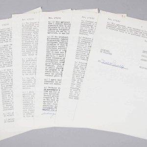 1962 Roger Maris Signed Contract Yankees - COA JSA
