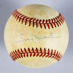 NY Yankees -HOFer- Billy Martin Single-Signed OAL Baseball - JSA Full LOA