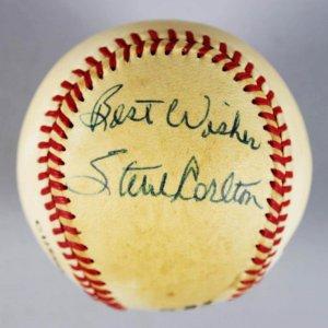 Philadelphia Phillies - Steve Carlton Signed & Inscribed ONL Baseball - COA JSA