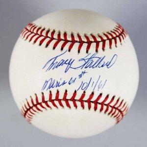 Boston Red Sox - Tracy Stallard Signed & Inscribed OAL Baseball - COA JSA